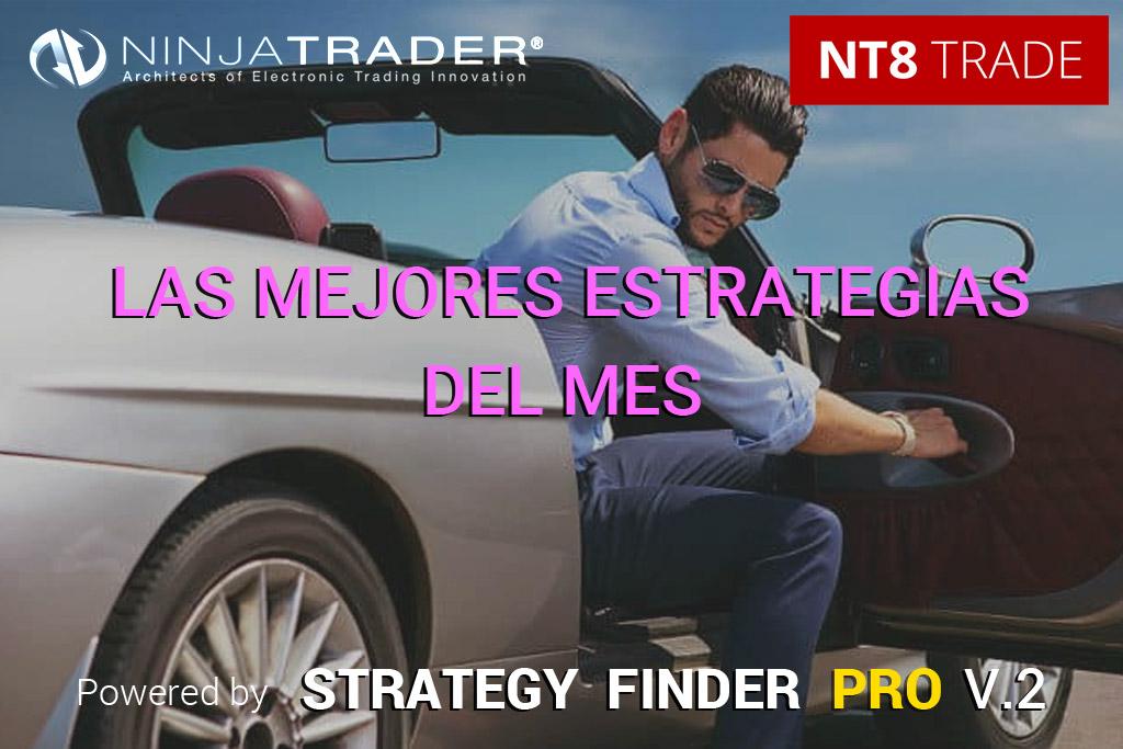 Las 8 estrategias de más alta calidad para Ninjatrader | Febrero 2021