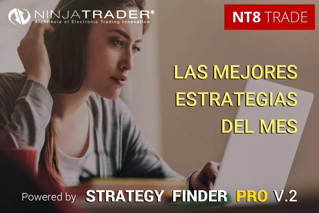 Las mejores estrategias financieras para Ninjatrader | Marzo 2021